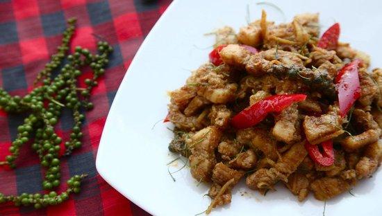 Baba Soul Food: Kua Kling Moo Saam Chan at Baba Sould Food Top Thai Restaurants in Phuket Thailand