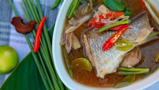 Baba Soul Food: Clear Mullet Fish Soup at Baba Sould Food Top Restaurants in Phuket