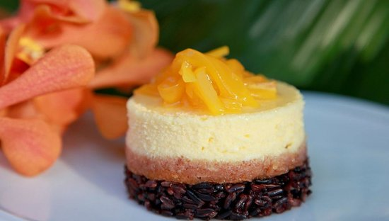 Baba Soul Food: Jackfruit Cheese Cake Black Sticky Rice at Baba Sould Food Top Thai Restaurants in Phuket