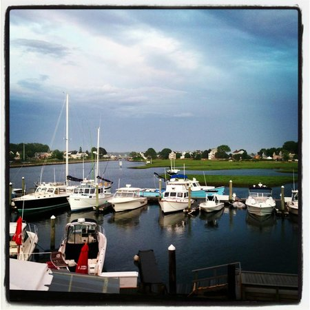 Cape Ann's Marina Resort: The View from our 2nd floor room