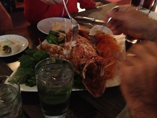 Add a caption picture of flying fish seattle tripadvisor for Flying fish happy hour