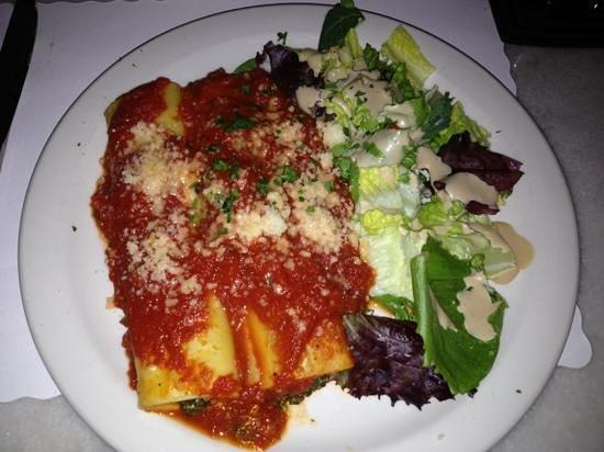 Sole Luna Cafe: Cannelloni ricotta e spinaci