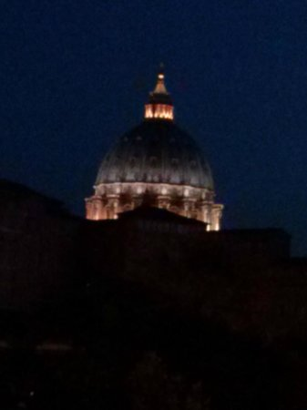 Vatican Vista: St. Peter's Dome at Dusk