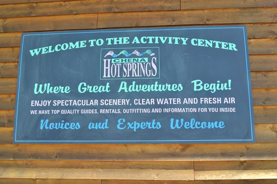 Chena Hot Springs Resort: Welcome Center