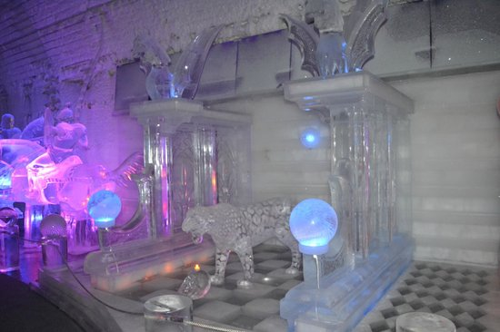 Chena Hot Springs Resort: Somes Ice Scuptures inside Ice Musuem