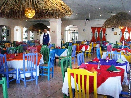 Los Arcos: Vista del restaurant