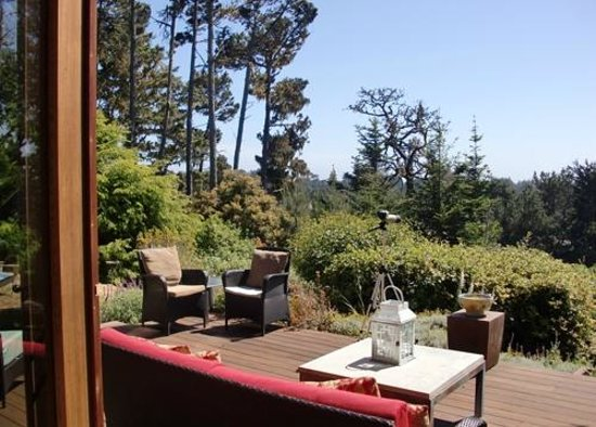 Brewery Gulch Inn : View from the deck