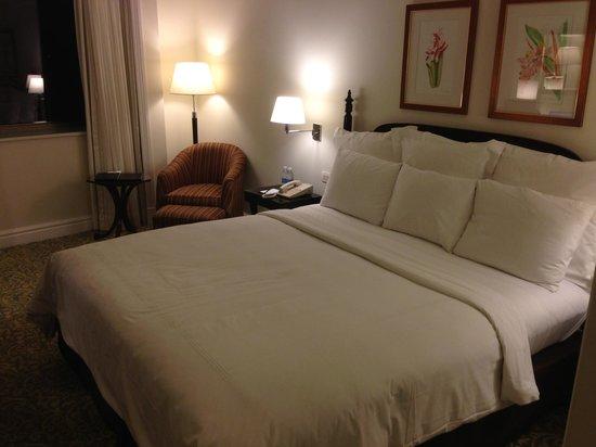 JW Marriott Hotel Rio de Janeiro: Comfortable bed