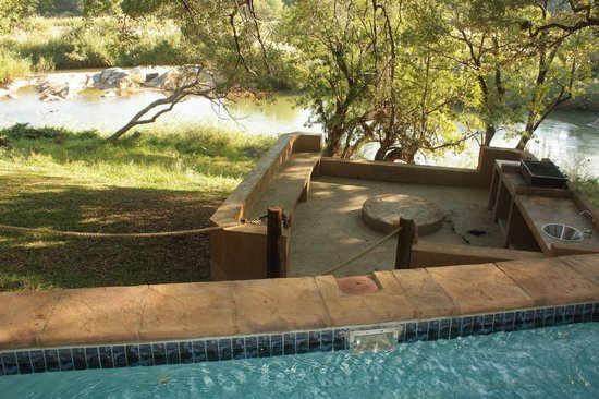 Hippo Pools Resort: River view