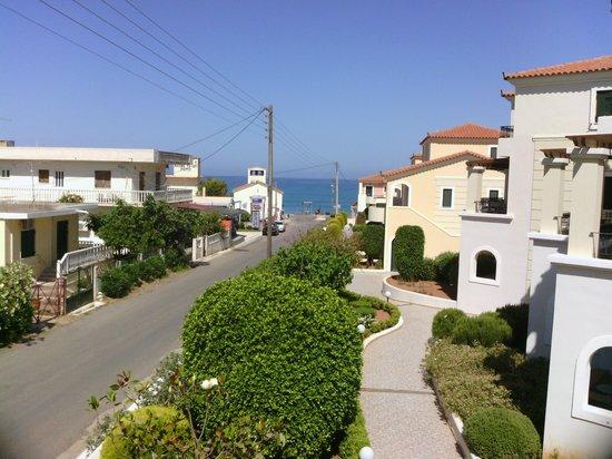 Messina Resort Hotel : вид с балкона