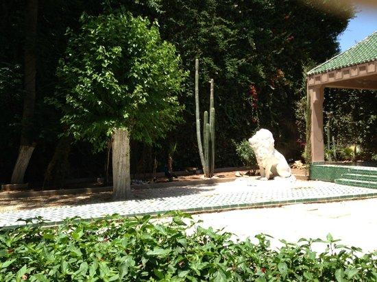 Rotisserie de la Paix: jardin
