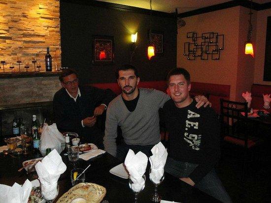 Zam Restaurant & Bar: PEDJA STOJAKOVIC NBA