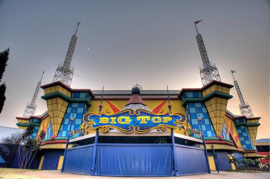 Brakpan, Sudafrica: Big Top Arena