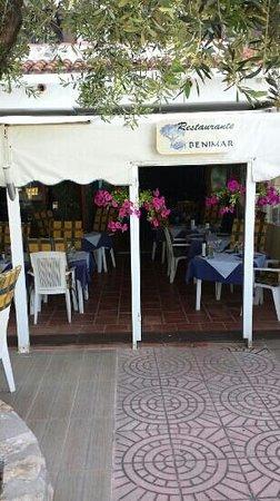 Benimar: Terrasse
