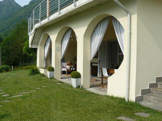 B&B Re Perone: lounge area