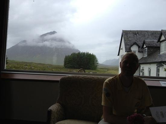 Kings House Hotel: our view at breakfast