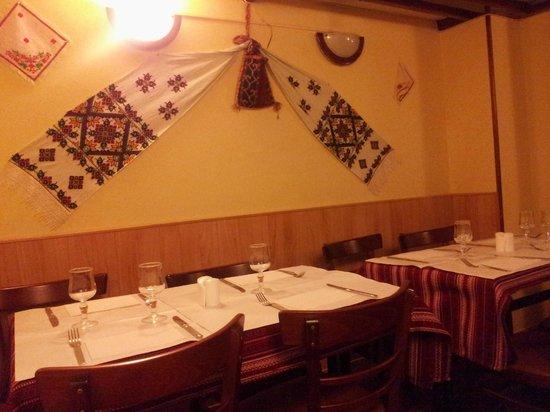 Restaurant Ukraine: Indoor decoration