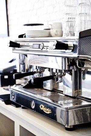 Strangas Dessert Boutique Copenhagen: Coffee - Ecological coffee from Estate Coffee