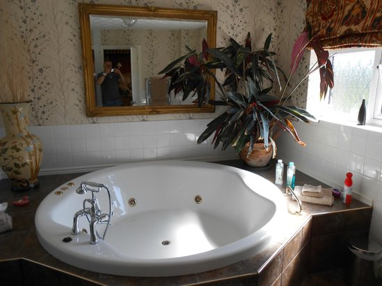 Orchard House Guest House: Luxurious bathing!