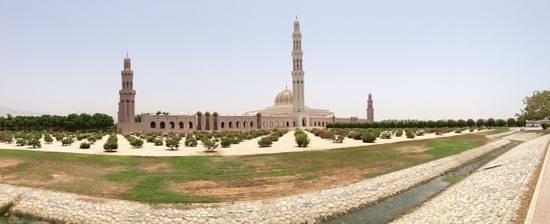 Sultan Qaboos, Oman: Nice mosque in Oman.