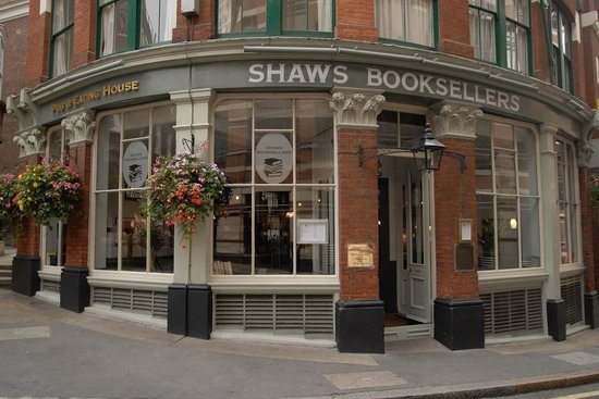 Shaws Booksellers: Exterior