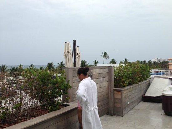 "Hotel Breakwater South Beach: ""private balcony"""