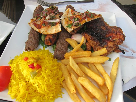 Grand Cafe: Mixed Grill