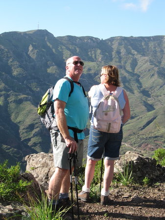 Lifford, Irland: Enjoy La Gomera with guided walks lead by Andy & Paddy