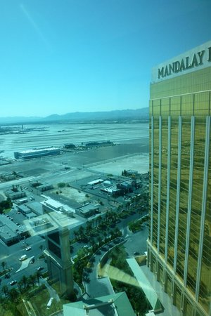 Four Seasons Hotel Las Vegas: view from room
