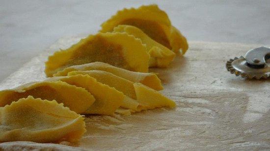 Ristorante Rigoletto: tortelli di zucca fatti in casa