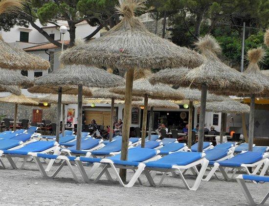 Café bar Es Recó: Direkt am Strand