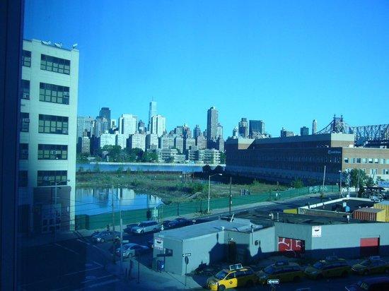 Am Aussichtspunkt Super Aussicht Auf Die Skyline Von Manhattan Picture Of Wyndham Garden