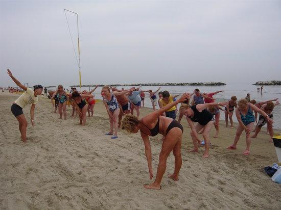 Bagno 39 Cigno : risveglio muscolare in riva al mare