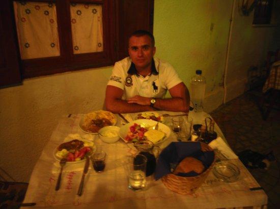 Drosia: dinner
