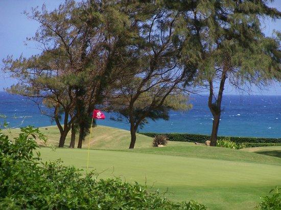 Poipu Bay Resort Golf Course : Poipu Bay Golf view