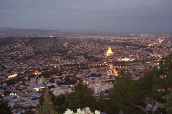 Betsy's Hotel : View of Tbilisi
