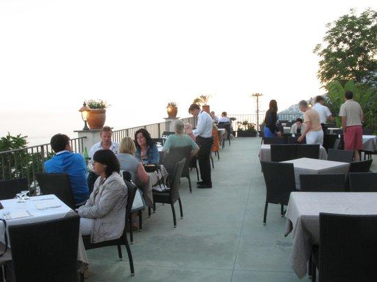Le Bonta del Capo : la terrazza