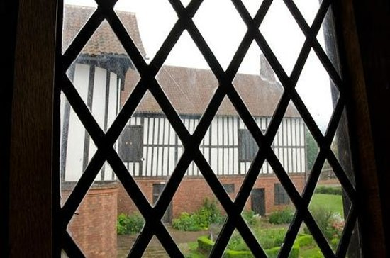 Gainsborough Old Hall: Through the window
