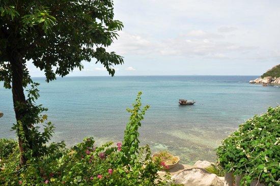 Jamahkiri Resort & Spa: vue de la chambre