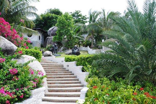 Jamahkiri Resort & Spa: Jardins
