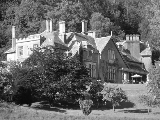 Hotel Endsleigh: Rear of hotel