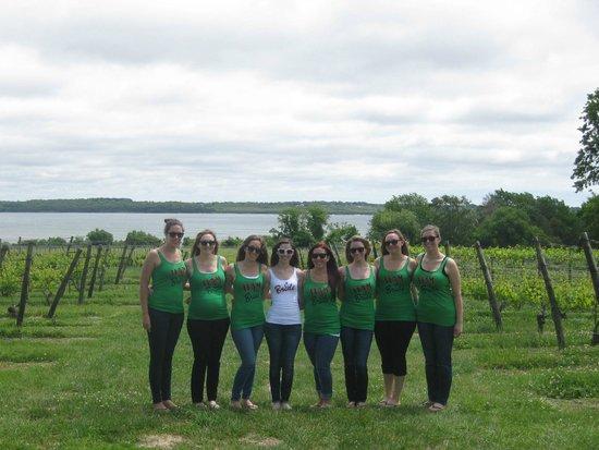 Greenvale Vineyards: Bachlorette party!