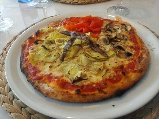 Pizzería Obris: La super pizza que me he comido