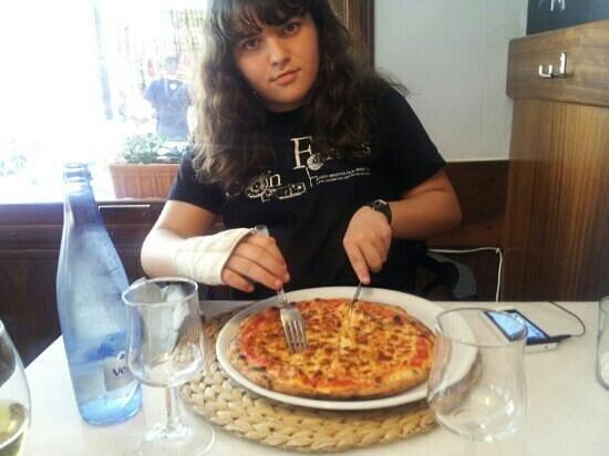 Pizzería Obris: la que se come Cati