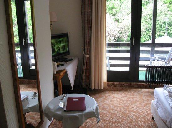 Schlosshotel Sophia: Gedeelte van onze kamer