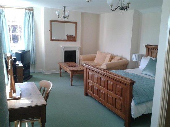 The Royal Oak Hotel: Doppelzimmer
