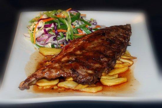Red Ochre Grill Restaurant Alice Springs: Pork Spare Ribs