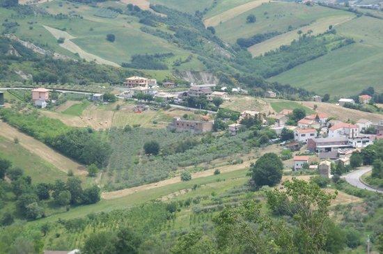 Bed & Breakfast La casa di Alba : Vista de San Bartolomeo desde Guardiagrele