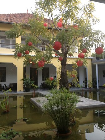 The Plantation - urban resort & spa: Chinese New Year decorations in Courtyard