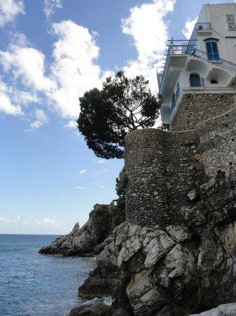 Villa San Michele: Hotel direkt über dem Meer